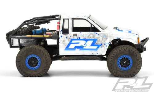 TOYOTA HILUX SR5 only cab clear body by Pro-Line