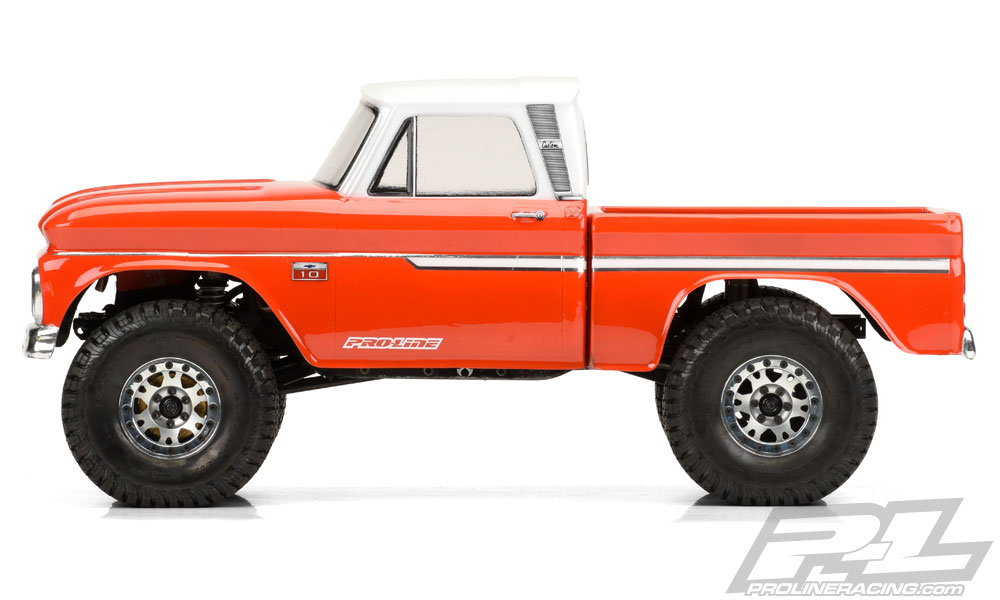 Chevrolet C-10 1966 IN DUE PEZZI passo 312mm by Pro-Line