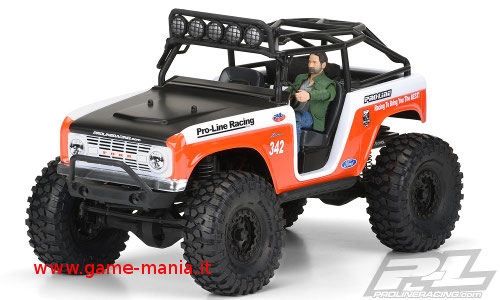 Ford Bronco 1966 carrozzeria 1:10 per SCX Deadbolt by Pro-Line