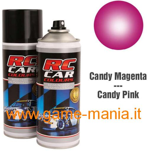 Vernice spray ROSA CANDY x policarbonato 150ml by Ghiant