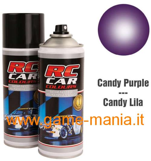 Vernice spray VIOLA CANDY x policarbonato 150ml by Ghiant