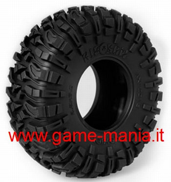 Coppia gomme 2.2 RIPSAW mescola R35 con inserti by Axial