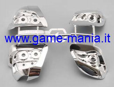 Chromed nylon head&tail lights f/ SUBARU IMPREZA YUKES SYMS by Yokomo
