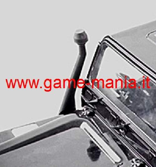 Snorkel IN GOMMA per carrozzeria Defender 1:10 by Integy