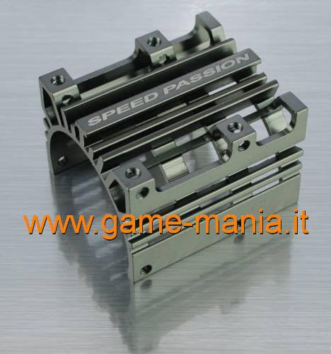 Dissipatore di calore grigio passivo x motori cl.540 by Speed Passion