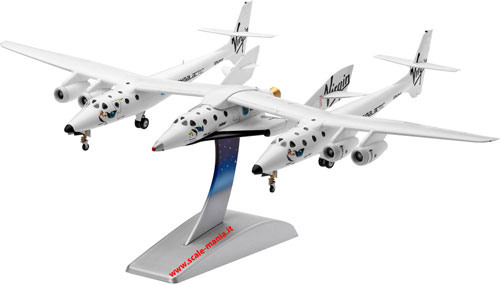 Kit in plastica dello SpaceShipTwo in scala 1:144 By Revell