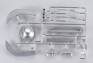 """F"" set (wipers, exhausts, diff cover) for F-350 by Tamiya"