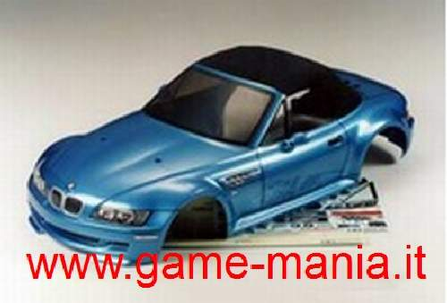 Carrozzeria BMW Z3 M ROADSTER traspar. passo 235mm by Tamiya