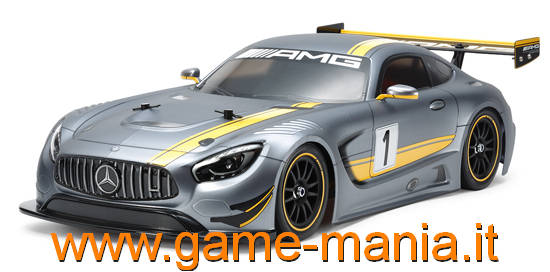 Carrozz. AMG-GT3 190mm trasparente con PARABOLE by Tamiya