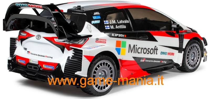 Carrozz. TOYOTA YARIS WRC 190mm trasparente PARABOLE by Tamiya