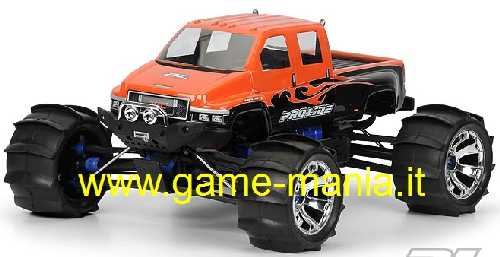 GMC TOPKICK carrozzeria trasp. interasse 350mm Savage/Revo 3.3 by Pro-Line
