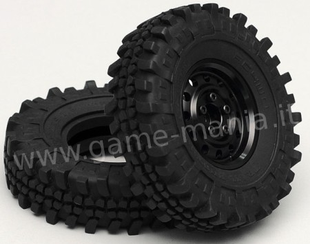 Pair of 1.9 TRAIL BUSTER tires with inserts by RC4WD