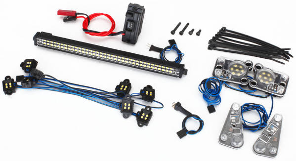 Kit COMPLETO luci Led WATERPROOF per TRX-4 by Traxxas