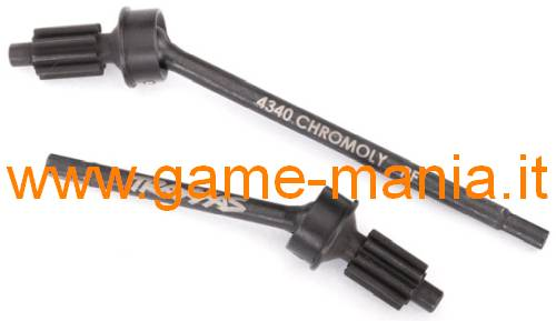 FRONT CVD portal gear shafts (2x) for Traxxas TRX-4 by Traxxas