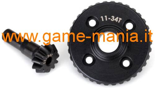 TRX-4 STEEL differential ring and pinion gear by Traxxas