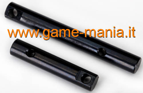 Front and rear transfer case output shafts for TRX-4 by Traxxas
