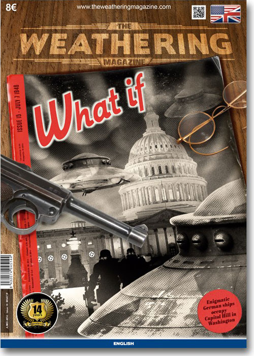 "The Weathering Magazine 15 ""What if"" ed. inglese by MIG"