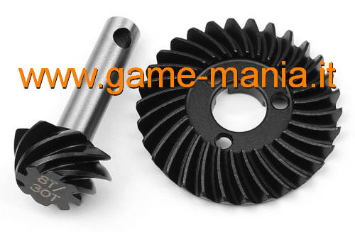 HD 30T-8T steel differential gears for AR44 axle by Vanquish Pr.