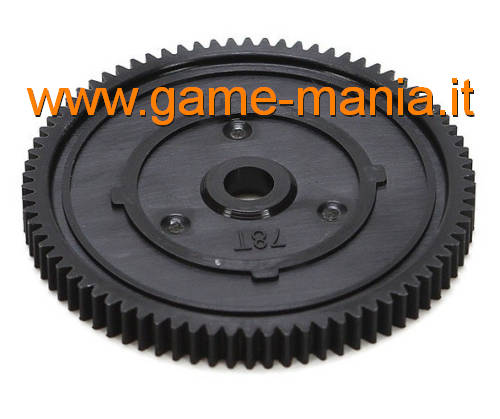78 teeth 48 pitch original nylon spur gear for Twin Hammers by Vaterra