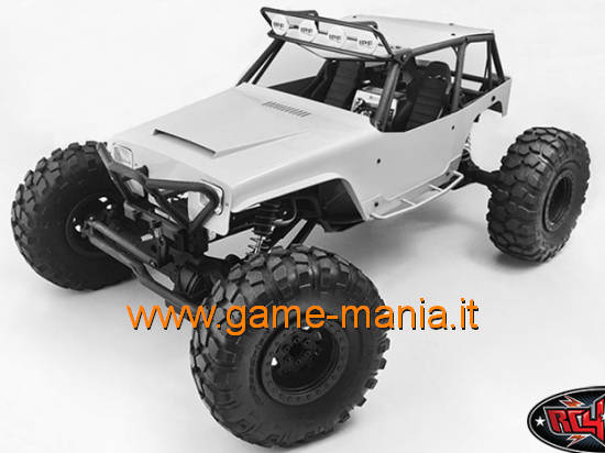 Powder coated METAL body for Axial Wraith by RC4WD