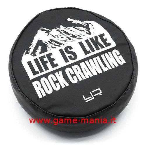 Copriruota di scorta 1:10 in similpelle LIFE IS LIKE by Yeah Racing