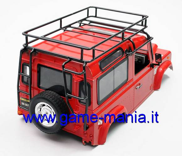 Rollbar completo in lega x carrozzeria Defender 90 ABS by RC4WD