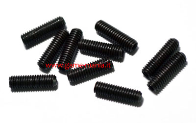 Grani M3x10 mm. in acciaio (10 pz.) by RC4WD
