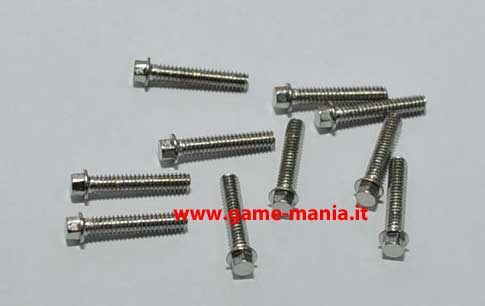 Set di viti 2x5mm - 20 pz. - testa A BULLONE by RC4WD