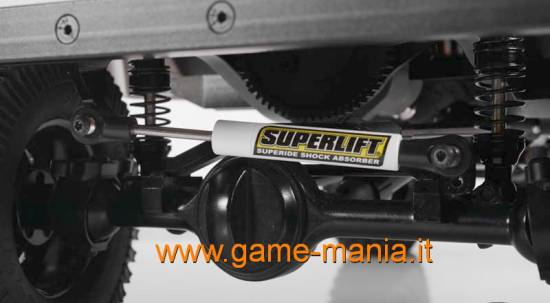 Rinvio di sterzo / barra Panhard replica Superlift 90-120mm by RC4WD