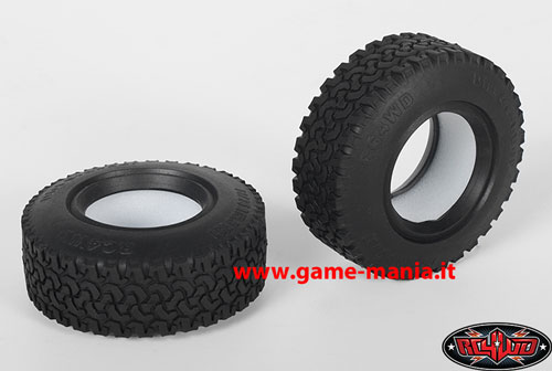 "Coppia gomme 1.55"" DIRT GRABBER con inserti mescola X3 by RC4WD"