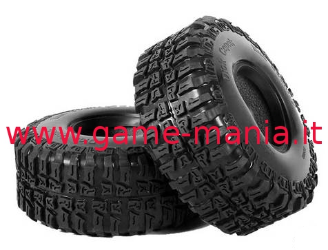 "Pair of 2.2"" Dick Cepek MUD COUNTRY tires with inserts by RC4WD"