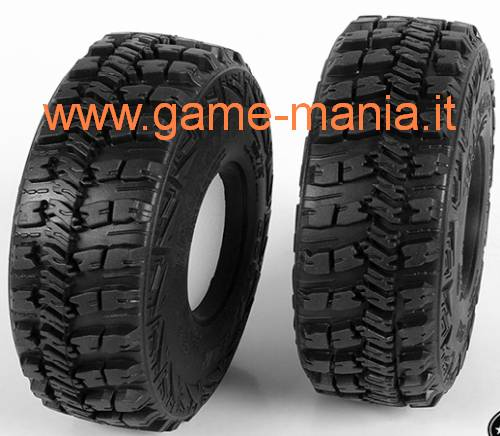 "Coppia gomme 1.9"" GOODYEAR WRANGLER MT/R con inserti by RC4WD"