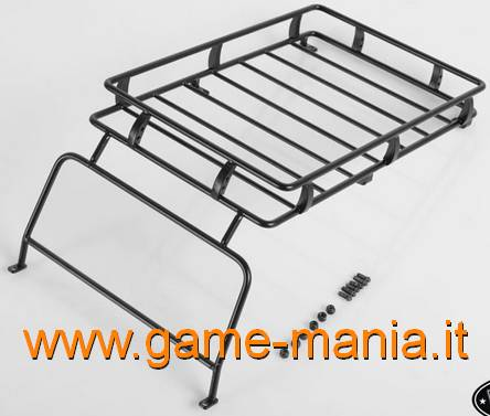 Outer metal ARB cage/luggage holder for D90 ABS body by RC4WD