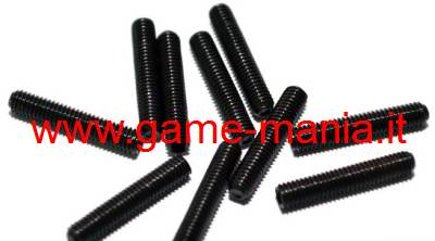 Grani M3x15 mm. in acciaio (10 pz.) by RC4WD