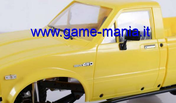Loghi HILUX 4WD in metallo 1:10 per fiancate Mojave/Hilux by RC4WD