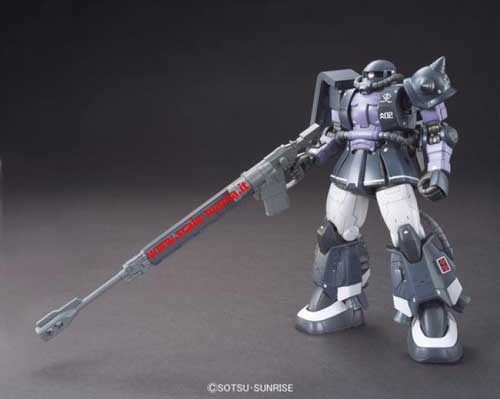 MS-06R-1A Zaku II High Mobility Type 1:144 HG Gundam The Origin