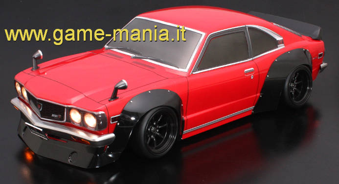 MAZDA SAVANNA COUPE GT over fender clear polycarbonate body w/light bucket by ABC hobby