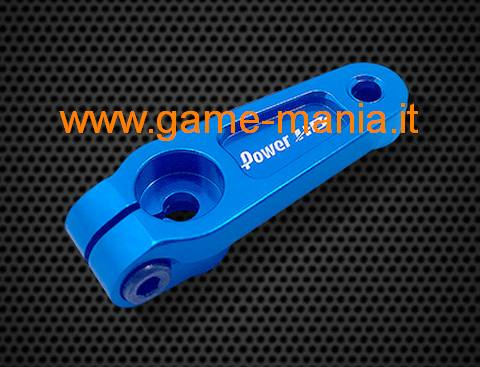 Squadretta servo IN LEGA AZZURRA 20mm - 25 denti by PowerHD