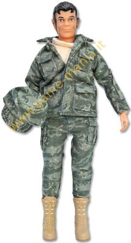 Figurino snodato per automodelli scala 1:10 AIR FORCE by Mego