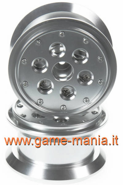 4X 2.2 full alloy beadlock rims with pendulum weights in by GPM