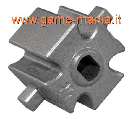 Blocchi (2) differenziale in lega per ponti AX/SCX/Wraith by Axial