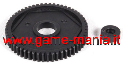 Nylon 32 pitch 56 teeth spur gear for slippers by Axial