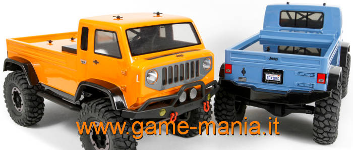 Carrozzeria traspar. JEEP MIGHTY FC passo 290mm by Axial