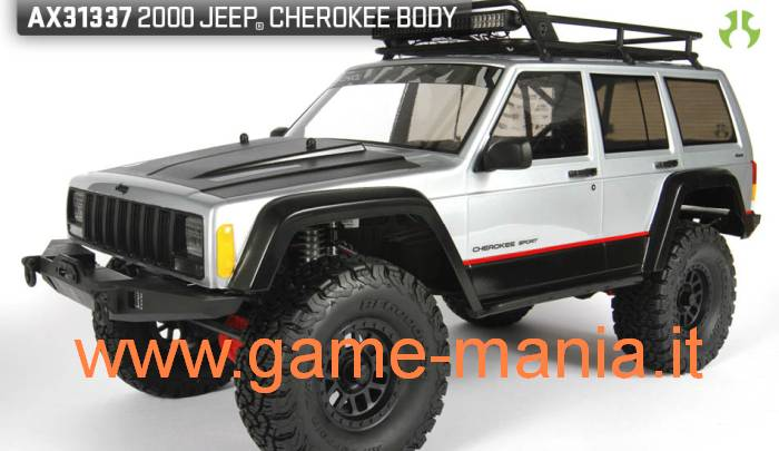 Jeep CHEROKEE scocca passo 313mm in lexan traspar. by Axial