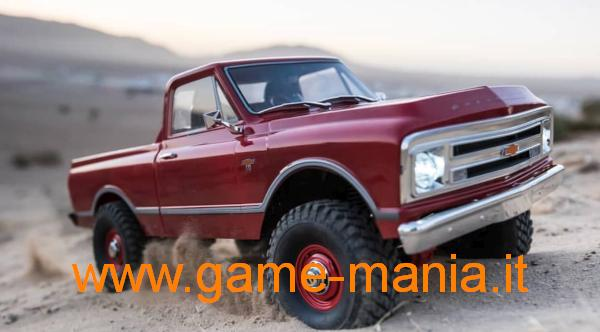 Chevrolet C-10 1967 lexan trasparente passo 312mm by Axial