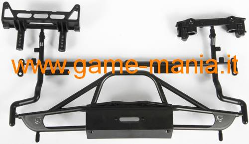 Paraurti anteriore Chassis Unlimited in nylon per SCX-10 I/II by Axial