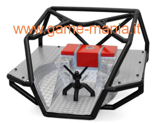 Roll cage posteriore Honcho in nylon e lexan by Axial