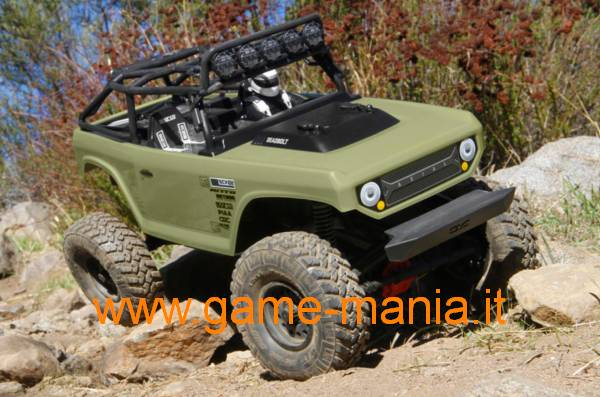 SCX-10 II - RTR Deadbolt body 1/10 ASSEMBLED scaler by Axial
