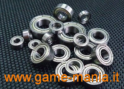 Complete ball bearings set for Tamiya trucks by Carson