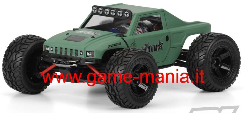 DESERT MILITIA body for 1/16 Traxxas E-Revo by Pro-Line